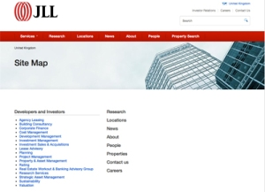 JLL HTML Site Map 010814