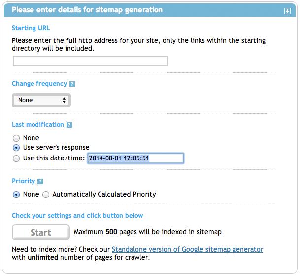xml sitemap generator free unlimited slimniyaseru